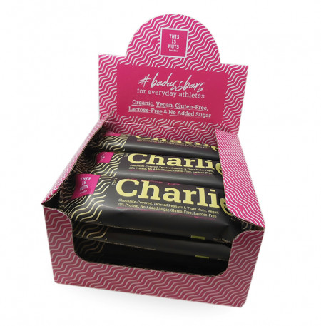 This is Charlie The Protein Bar Låda (12 pcs)