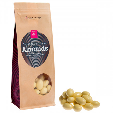 Caressing Cardamom Almonds