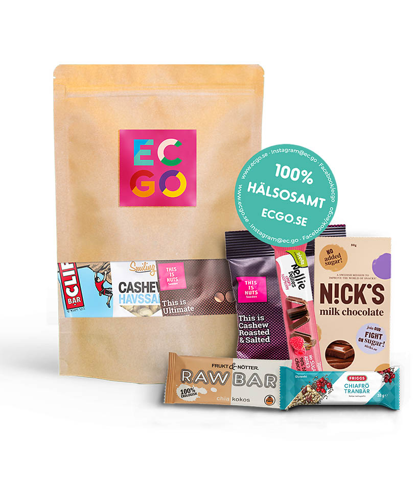 A snack subscription from EC-GO makes for a great Christmas gift.