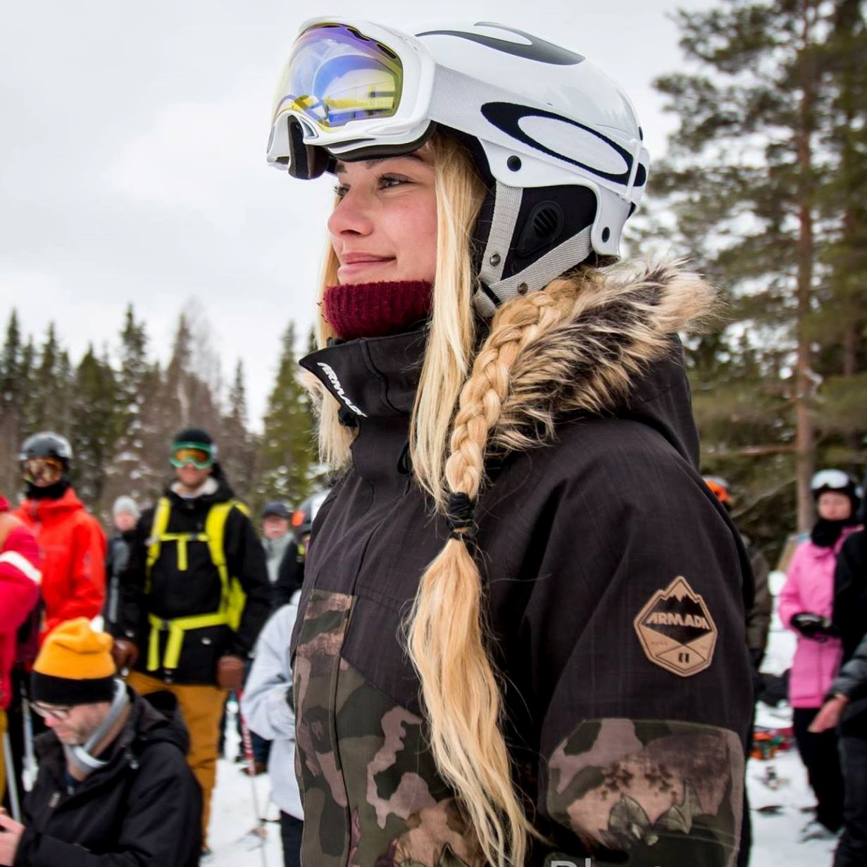 Extreme skier and This Is Nuts Ambassador Ida Ruder