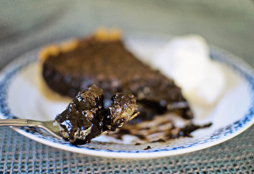 The ULTIMATE Gooey Chocolate Coconut Pie
